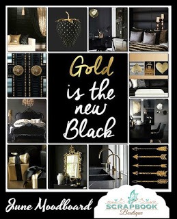 june black and gold