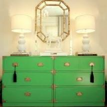 green drawers